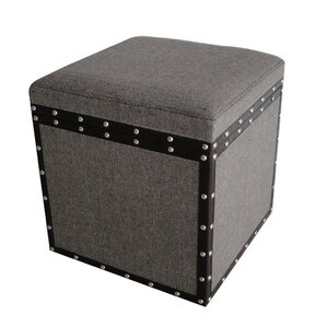 Mandalay Storage Stool by Screen Gems