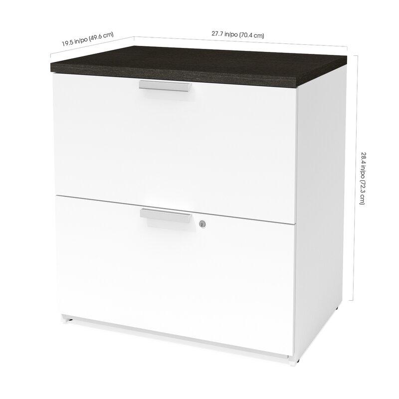 Hartleton 2-Drawer Lateral Filing Cabinet  sc 1 st  Wayfair & Latitude Run Hartleton 2-Drawer Lateral Filing Cabinet | Wayfair