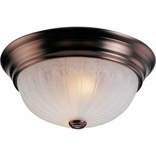 Minster 2 Light Ceiling Fixture Flush Mount