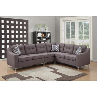 Modern & Contemporary Apartment Size Sectional   AllModern