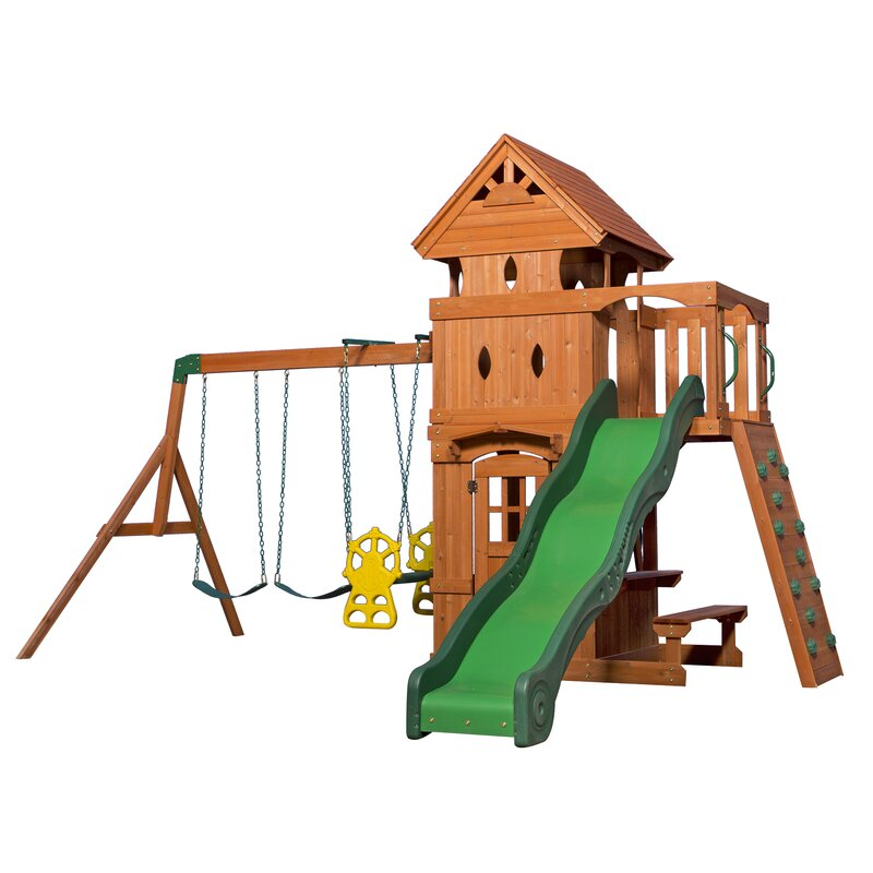 Backyard Discovery Monterey All Cedar Swing Set Amp Reviews