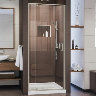 Flex 32 W X 72 H Rectangle Pivot Shower Enclosure With Base Included