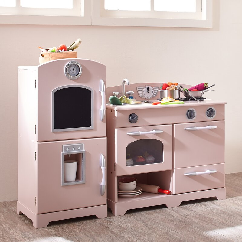 Constantino 2 Piece Play Kitchen Set