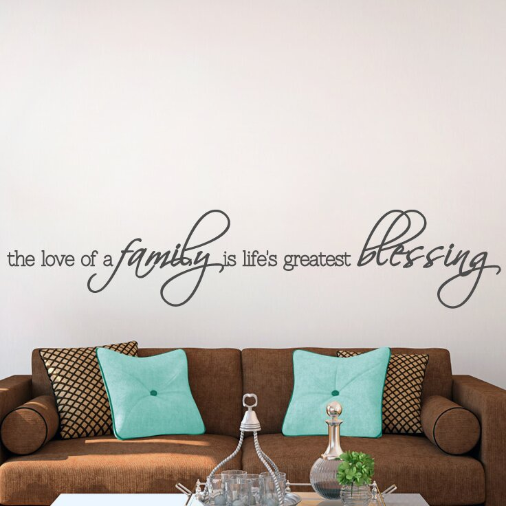 Sweetumswalldecals The Love Of A Family Wall Decal Reviews Wayfair