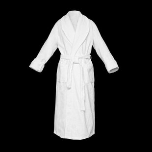 48ac4e121f Geron 100% Cotton Terry Cloth Bathrobe