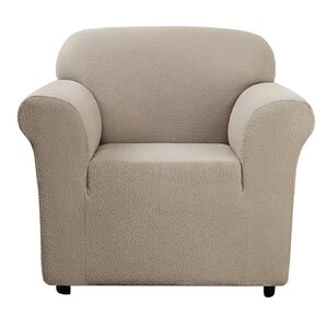 Side Box Cushion Armchair Slipcover by..
