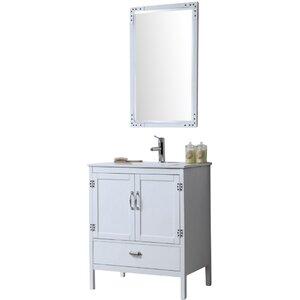 Cindi 30 Single Bathroom Vanity Set