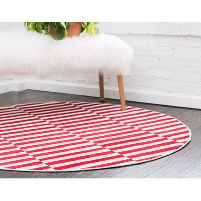 Red Round Area Rugs You Ll Love In 2019 Wayfair