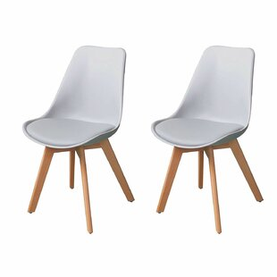 Grimsby Mid Century Upholstered Dining Chair Set Of 2
