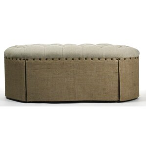 Tufted Ottoman by Zentique Inc.