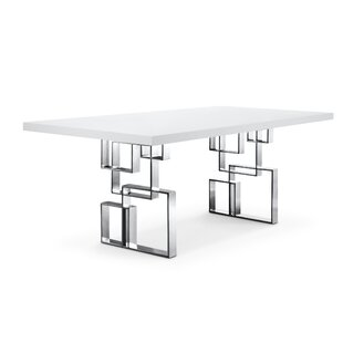 112f40553f99 White High Gloss Dining Table