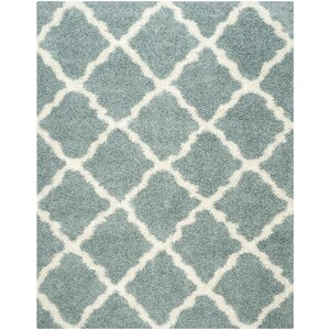 Charmain Light Blue/Ivory Area Rug