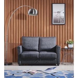 Zipcode Design Aviana Contemporary Fabric Loveseat Image