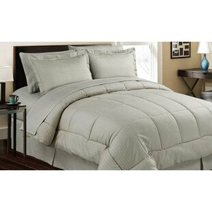 azariah hotel style 8 piece down alternative bed in a bag - Hotel Style Bedding