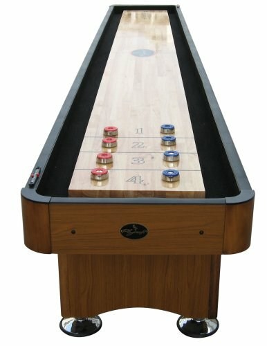 playcraft woodbridge honey oak 12u0027 table u0026 reviews wayfair - Shuffle Board