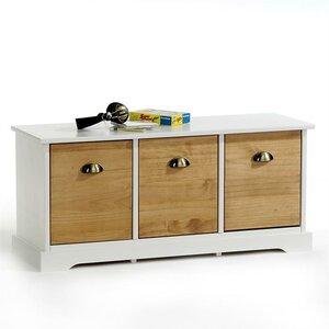 Garderobenbank Nancy mit Stauraum aus Holz von ..