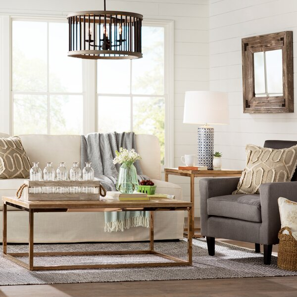 Elegant Laurel Foundry Modern Farmhouse Living Room | Wayfair