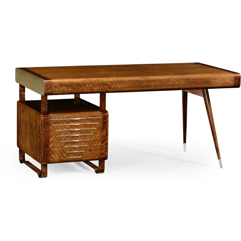 Jonathan Charles Fine Furniture Detroit Solid Wood Desk Wayfair
