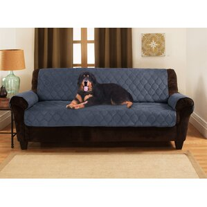 Honeycomb Box Cushion Sofa Slipcover by Yes Pets