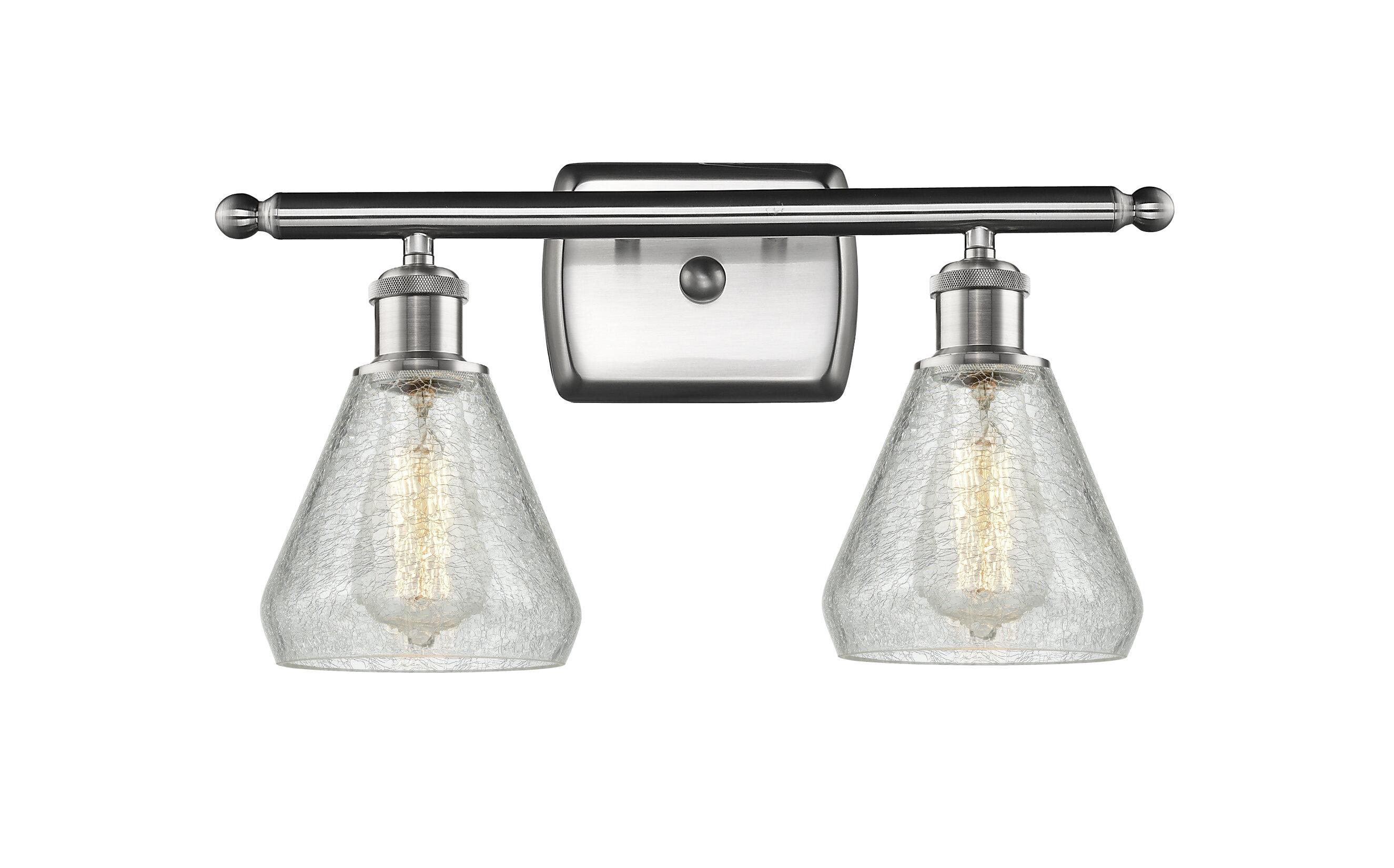 Wrought studio flesher 2 light vanity light wayfair