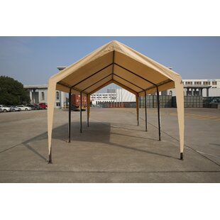 Carport 10 Ft. W X 20 Ft. D Steel Canopy