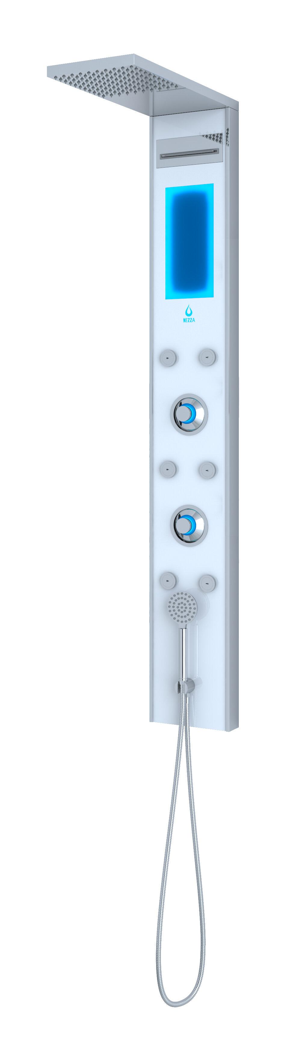 Nezza Pixie LED Shower Panel Diverter | Wayfair
