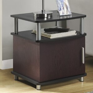 Elian End Table With Storage b..