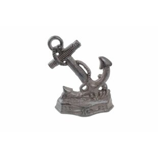 Decorative Cast Iron Door Stop | Wayfair