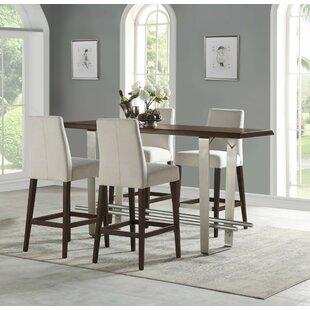 Koffler 5 Piece Counter Height Dining Set