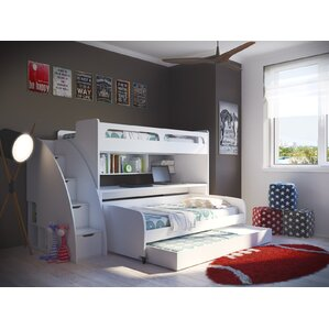 Bel Mondo Twin Bunk Bed with Trundle by Multimo