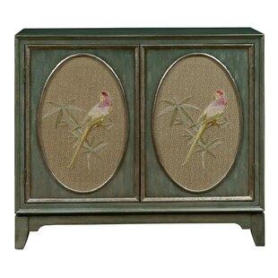 Callahan Fabric Panel Bar Cabinet