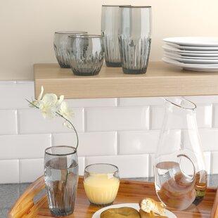 Merveilleux Harrell 6 Piece Plastic Assorted Glassware Set