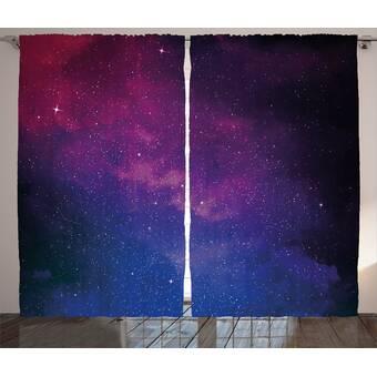 da6d1c51647ff Brayden Studio Myranda Galaxy Pink and Blue Nebula in Starry Night ...