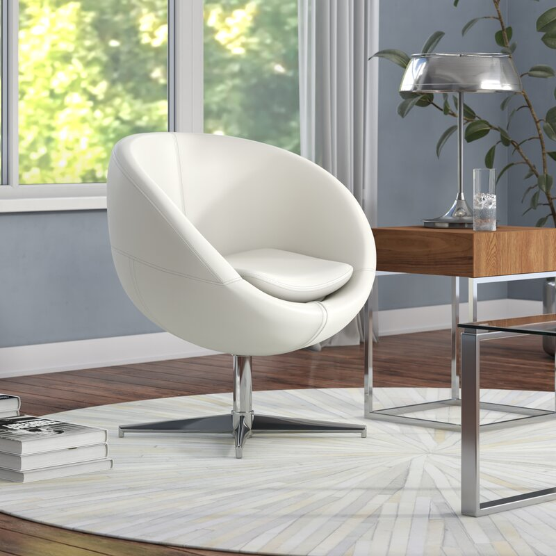 Evanston Swivel Papasan Chair