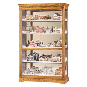 Parkview Lighted Curio Cabinet by Howard ..