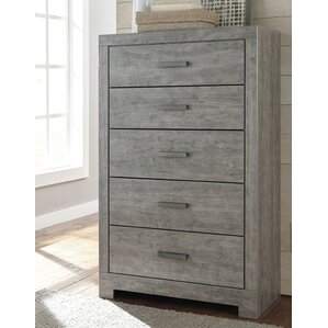 Rosen 5 Drawer Chest by Beachcrest Home