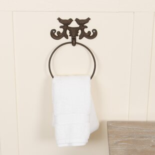 Denis Wall Mounted Towel Ring by Brambly Cottage
