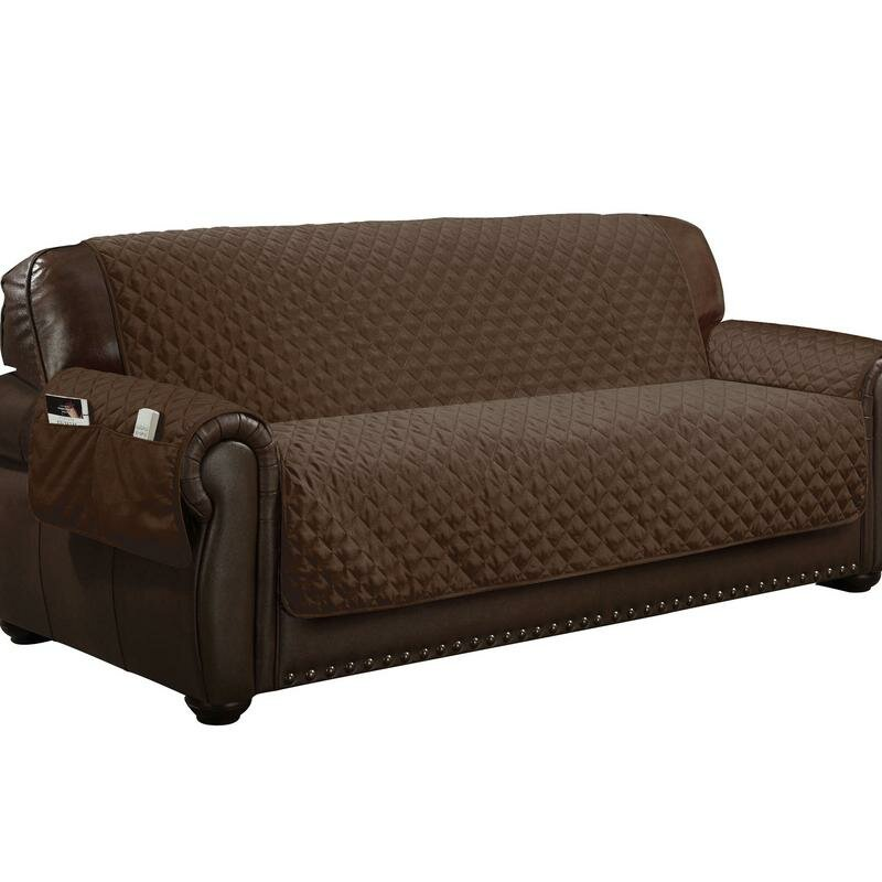 Charmant Water Resistant T Cushion Sofa Slipcover
