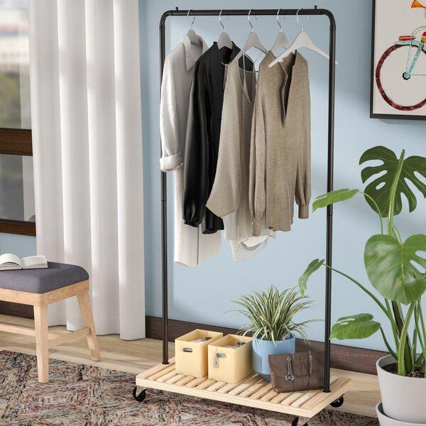 Rebrilliant 36 25 Quot W Garment Rack Amp Reviews Wayfair