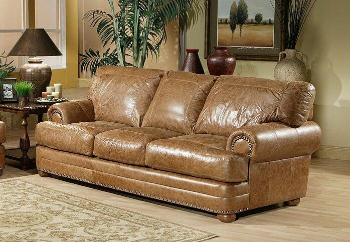 Omnia Leather Houston Leather Configurable Living Room Set ...