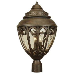 Oakhill 3 Light Oudoor Post Lantern