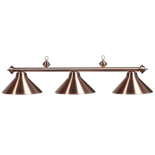 Copper Pool Table Lights