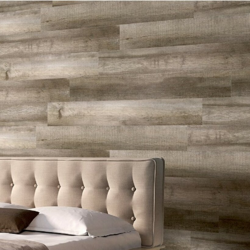 Mats Inc Easy Cover Pro 6 Engineered Wood Wall Paneling In Caramel Wayfair