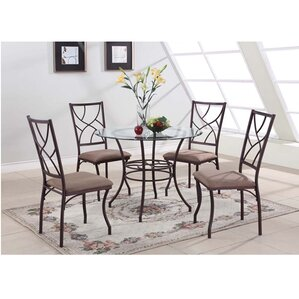 Etha 5 Piece Dining Set by August Grove