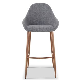 Bartee Modern Fabric 29.7 Bar Stool