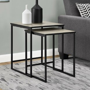 High Quality 2 Piece Nesting End Tables | Wayfair