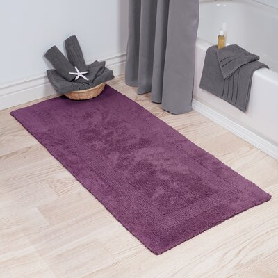 Purple Bath Rugs Amp Mats You Ll Love Wayfair