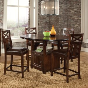 Cometa 5 Piece Dining Set by Loon Peak