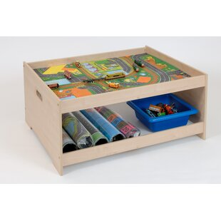 Children's Rectangular Lego Table by Sport and Playbase