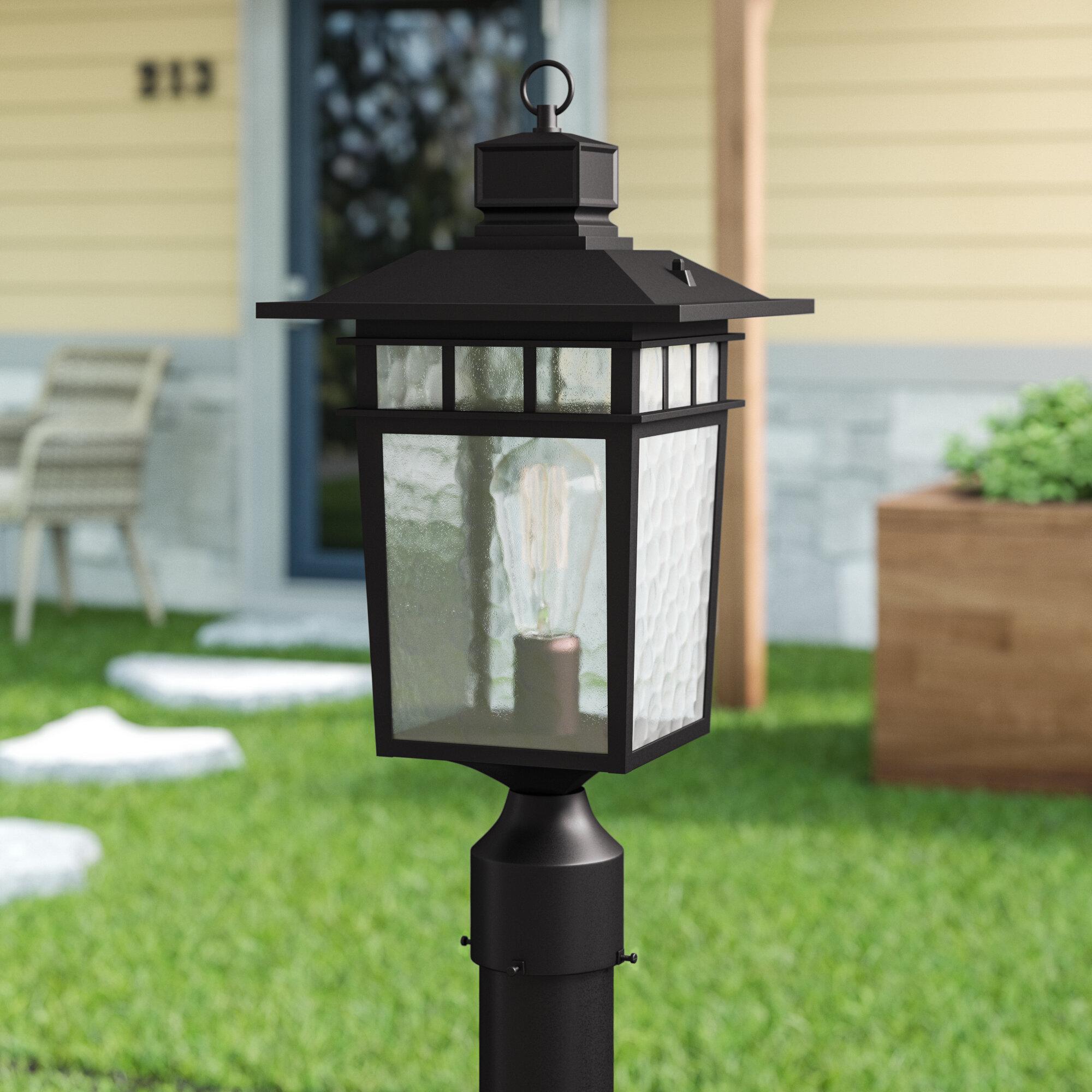 Bloomsbury Market Sherly Outdoor 1 Light Lantern Head Reviews Wayfair